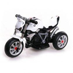 Детский трицикл BMW R1200 R Roadster White 6V - TS-3196 (музыка, свет)
